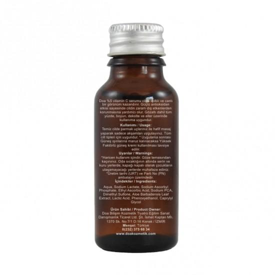 C Vitamini 5 Serumu