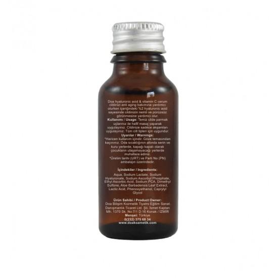 Hyaluronic Acid C Vitamini Serumu
